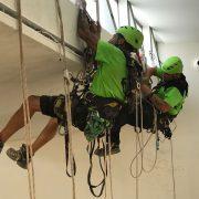 lineas de vida, equipo trabajos verticales