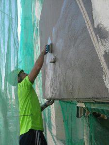 reparar fachada valencia, pintar fachada