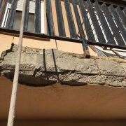 reparacion fachadas, descorchados, reparacion balcon, trabajos verticales valencia