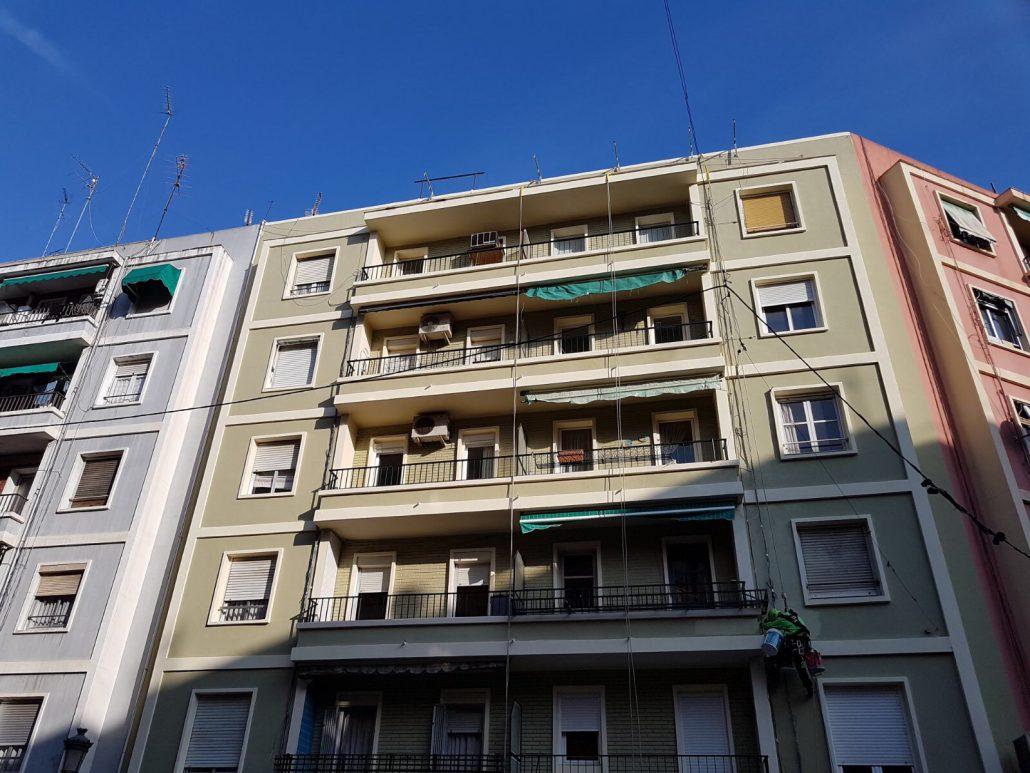 reparacion fachada valencia