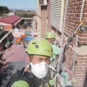 trabajos verticales fachadas
